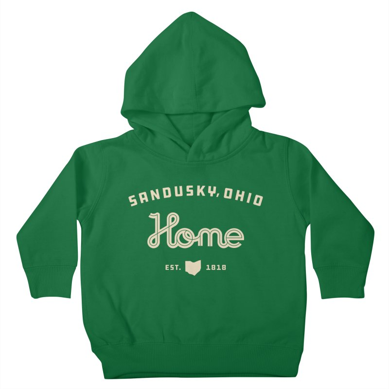 Home Kids Toddler Pullover Hoody by Shop Sandusky Ink & Cloth