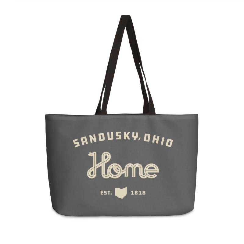 Home Accessories Weekender Bag Bag by Shop Sandusky Ink & Cloth