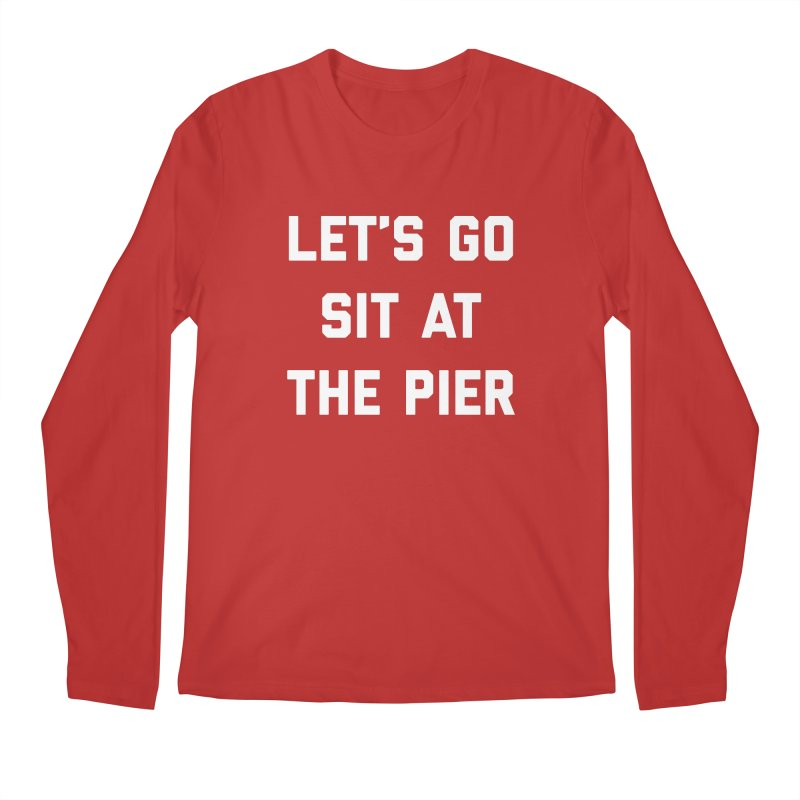 Jackson Street Pier Men's Regular Longsleeve T-Shirt by Shop Sandusky Ink & Cloth