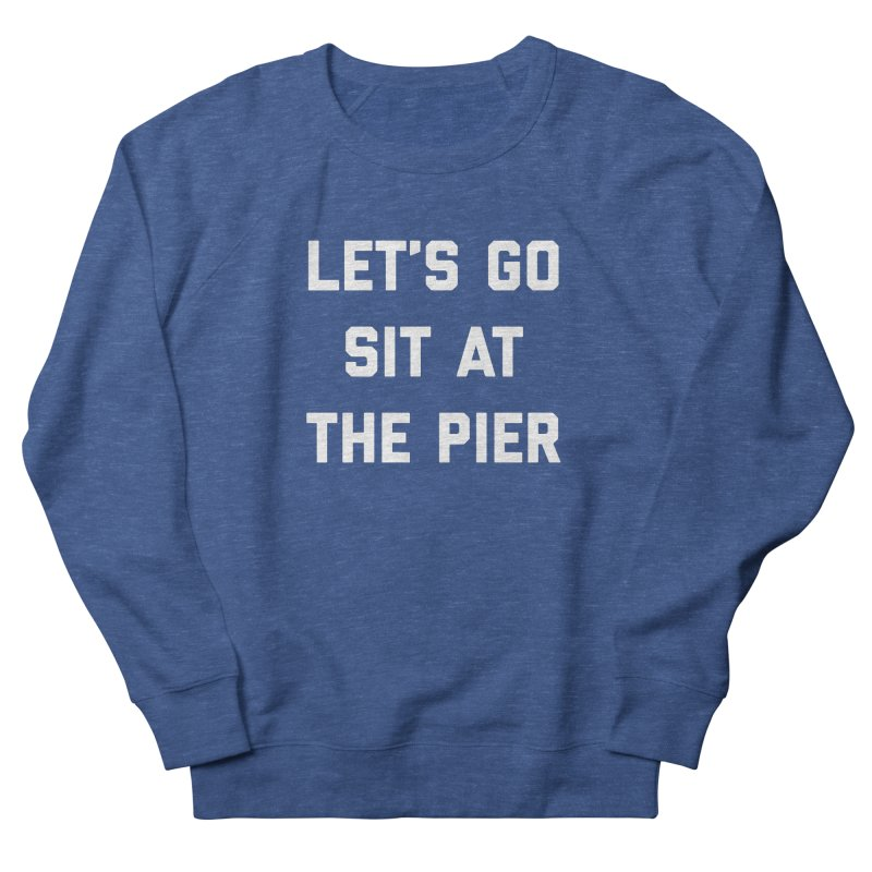Jackson Street Pier Men's French Terry Sweatshirt by Shop Sandusky Ink & Cloth