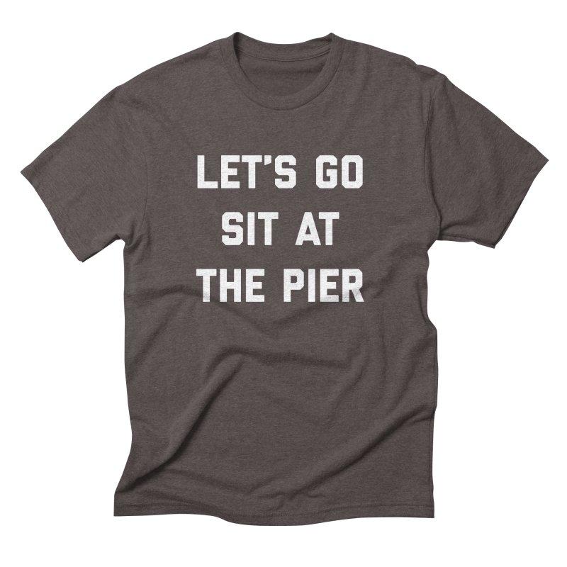 Jackson Street Pier Men's Triblend T-Shirt by Shop Sandusky Ink & Cloth