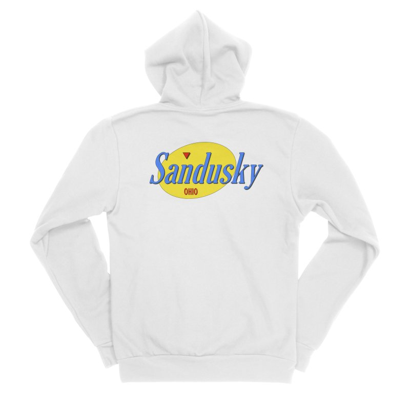 Sandfeld Women's Sponge Fleece Zip-Up Hoody by Shop Sandusky Ink & Cloth