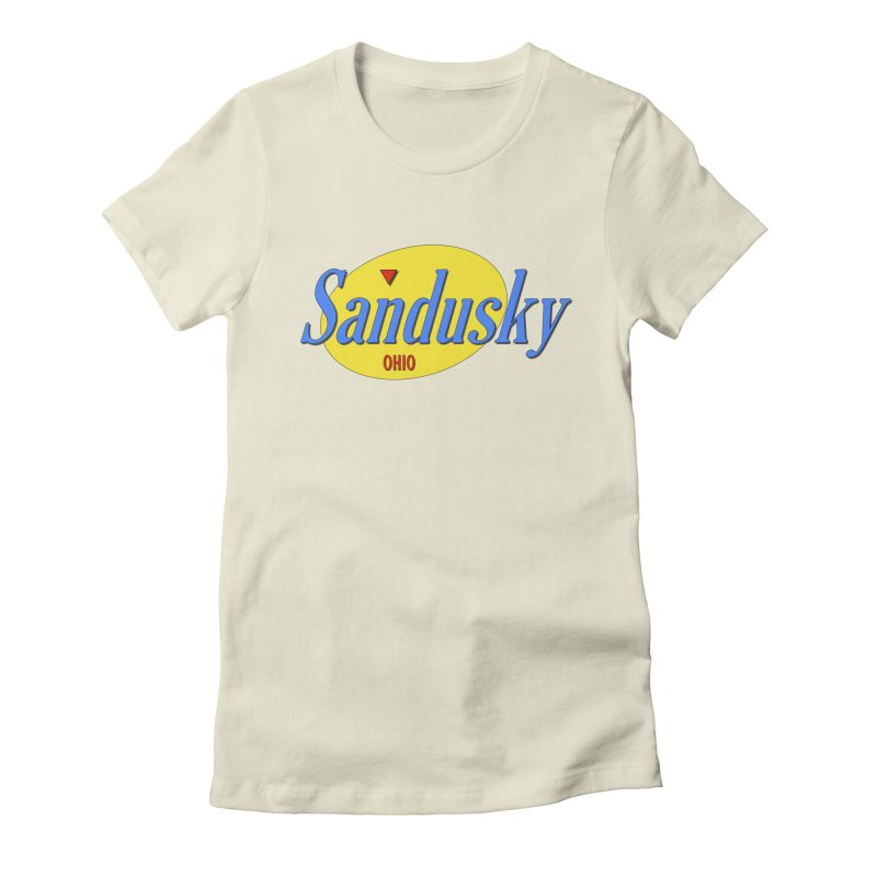 Sandfeld Women's Fitted T-Shirt by Shop Sandusky Ink & Cloth