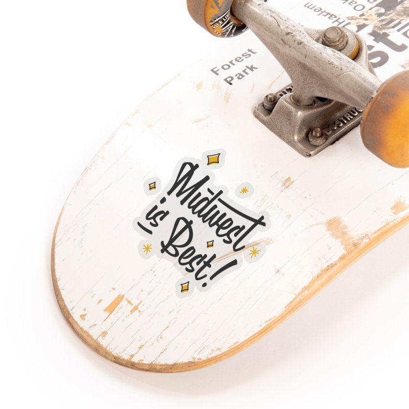 Midwest Is Best Accessories Sticker by Shop Sandusky Ink & Cloth