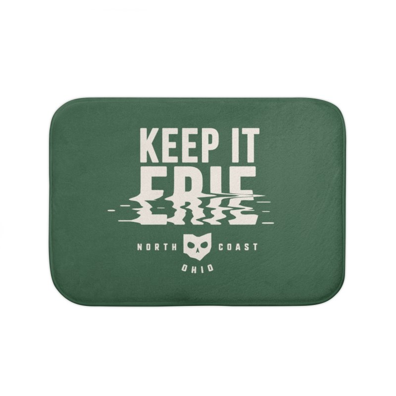 Keep It Erie Home Bath Mat by Shop Sandusky Ink & Cloth