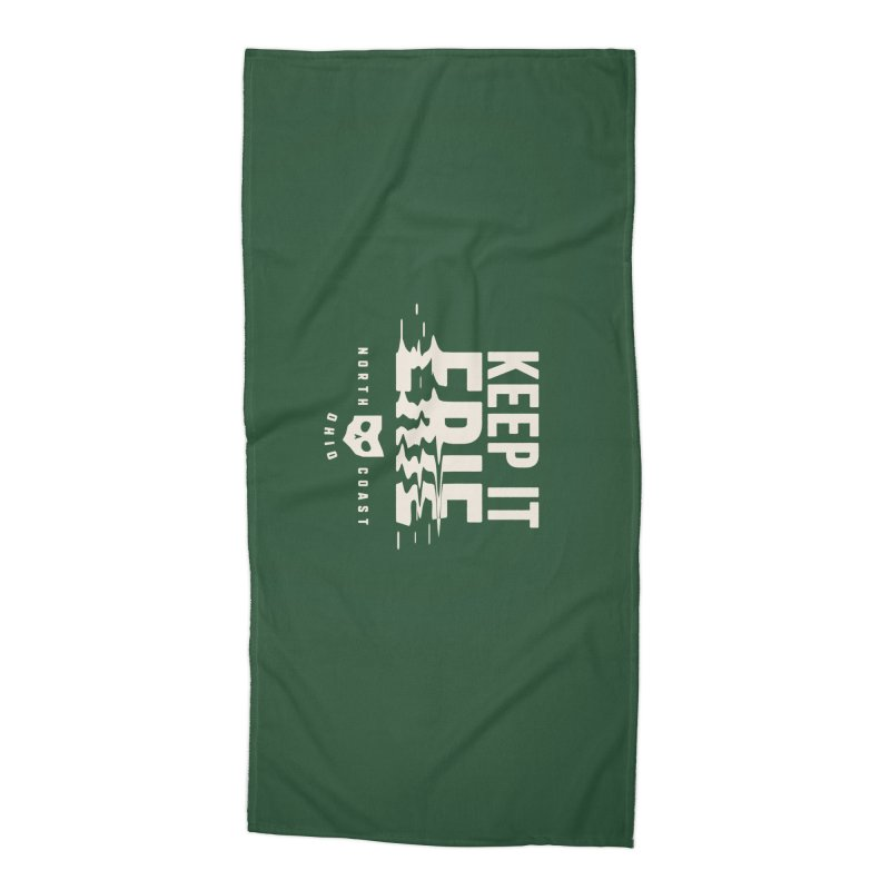 Keep It Erie Accessories Beach Towel by Shop Sandusky Ink & Cloth