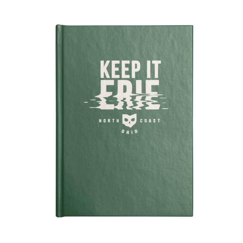 Keep It Erie Accessories Lined Journal Notebook by Shop Sandusky Ink & Cloth