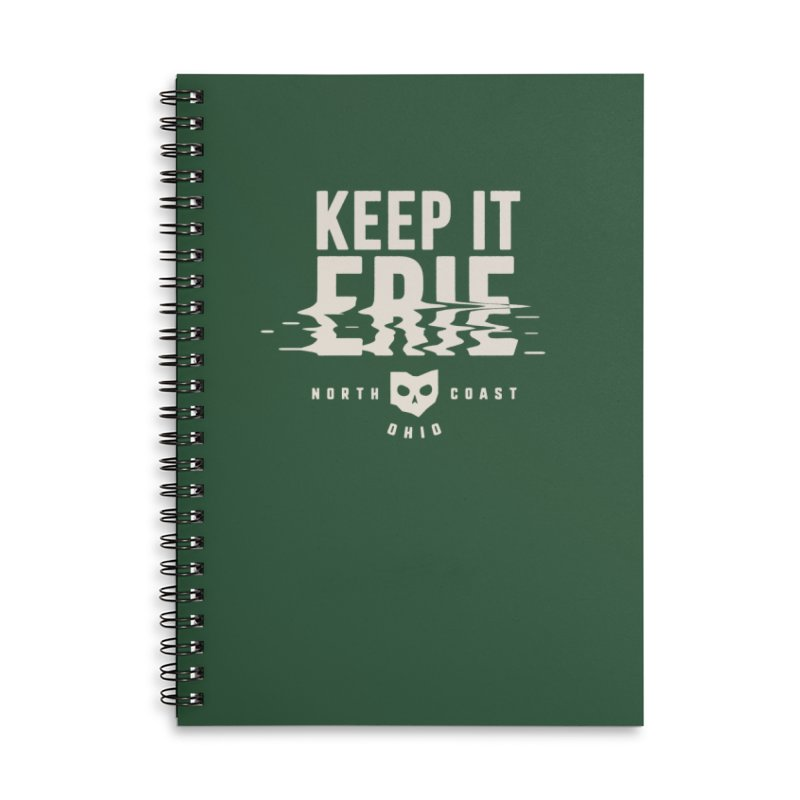 Keep It Erie Accessories Lined Spiral Notebook by Shop Sandusky Ink & Cloth