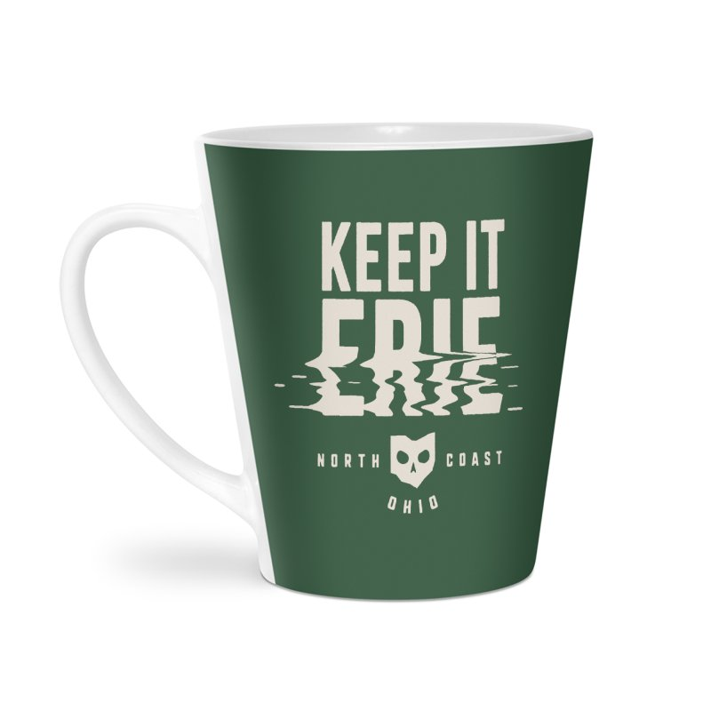 Keep It Erie Accessories Latte Mug by Shop Sandusky Ink & Cloth