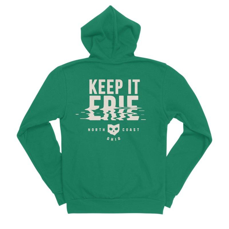 Keep It Erie Men's Sponge Fleece Zip-Up Hoody by Shop Sandusky Ink & Cloth