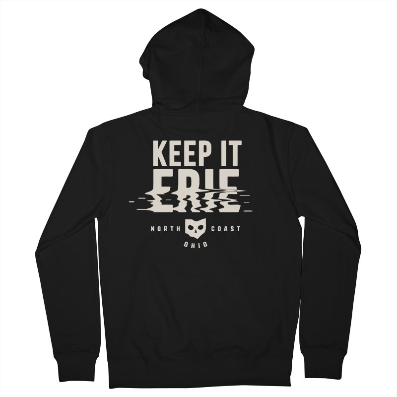 Keep It Erie Women's French Terry Zip-Up Hoody by Shop Sandusky Ink & Cloth