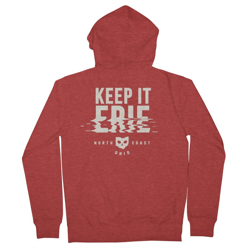 Keep It Erie Men's French Terry Zip-Up Hoody by Shop Sandusky Ink & Cloth