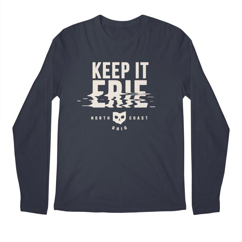 Keep It Erie Men's Regular Longsleeve T-Shirt by Shop Sandusky Ink & Cloth