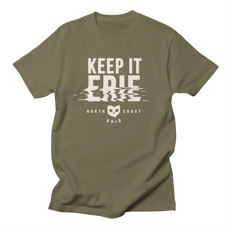 Keep It Erie Men's Regular T-Shirt by Shop Sandusky Ink & Cloth