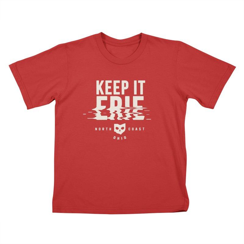 Keep It Erie Kids T-Shirt by Shop Sandusky Ink & Cloth