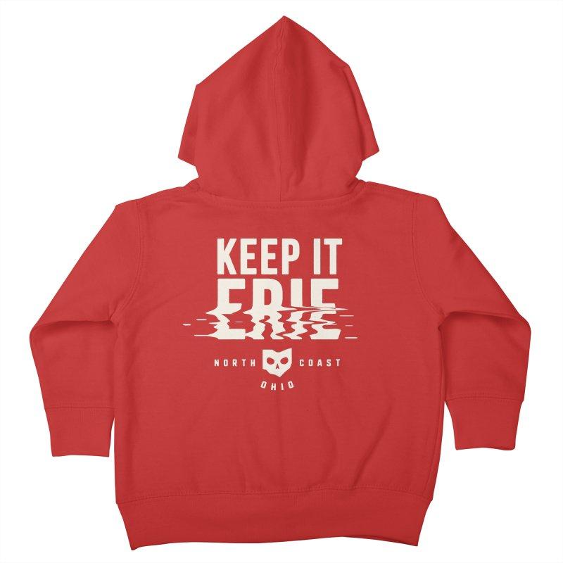 Keep It Erie Kids Toddler Zip-Up Hoody by Shop Sandusky Ink & Cloth
