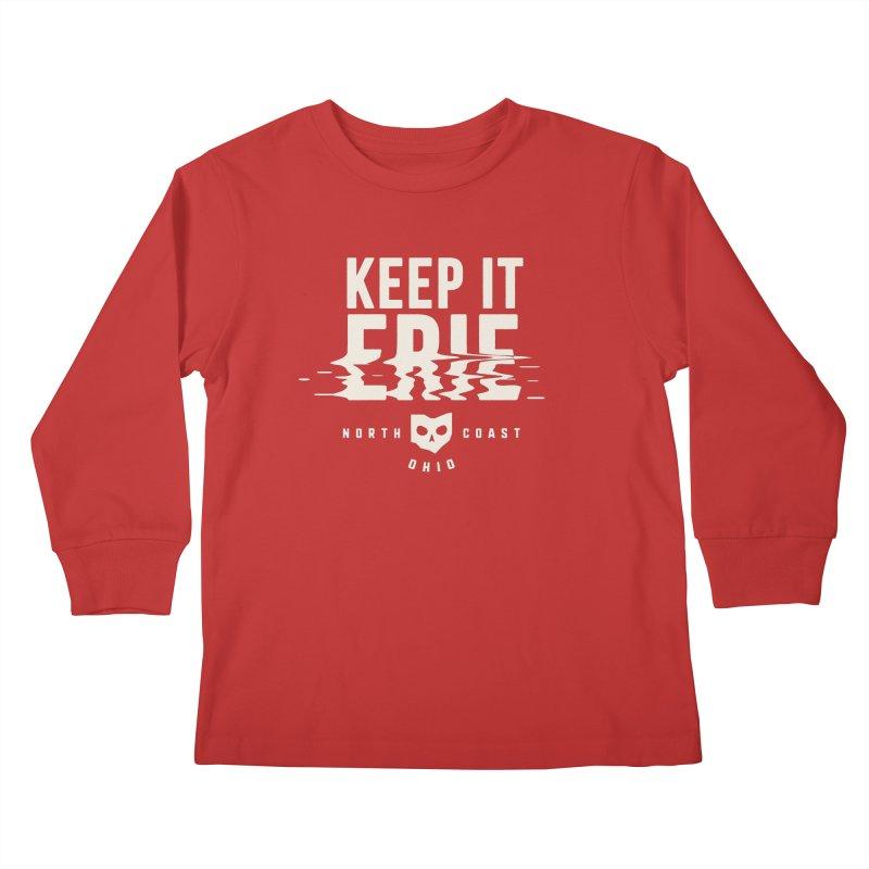Keep It Erie Kids Longsleeve T-Shirt by Shop Sandusky Ink & Cloth