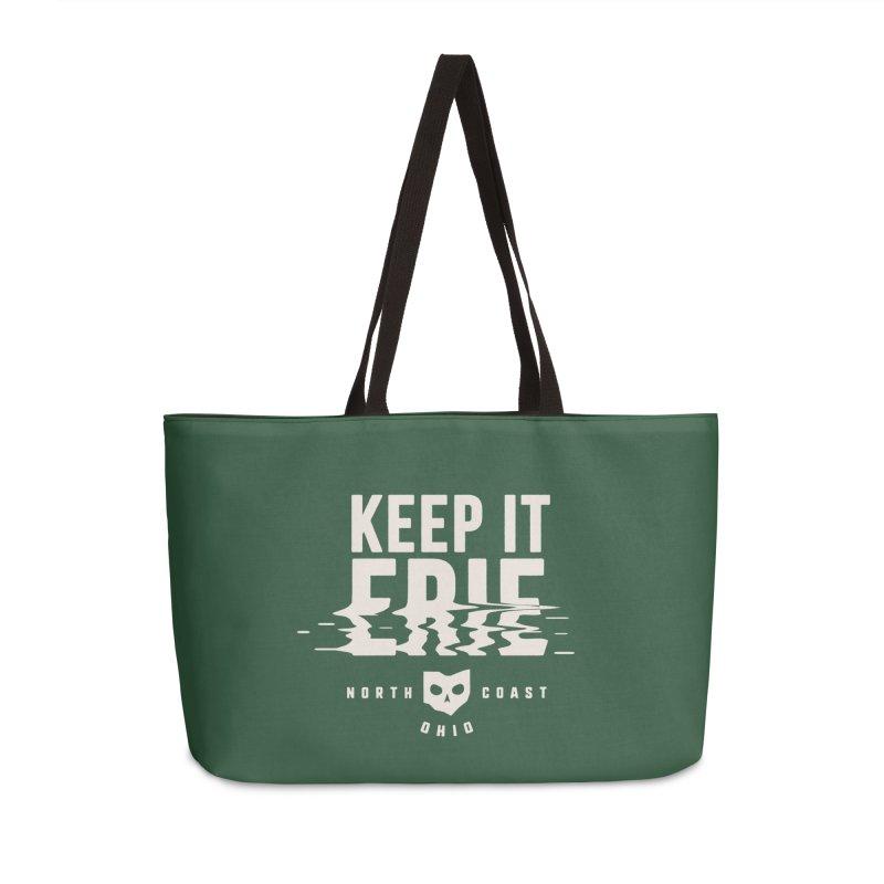 Keep It Erie Accessories Weekender Bag Bag by Shop Sandusky Ink & Cloth