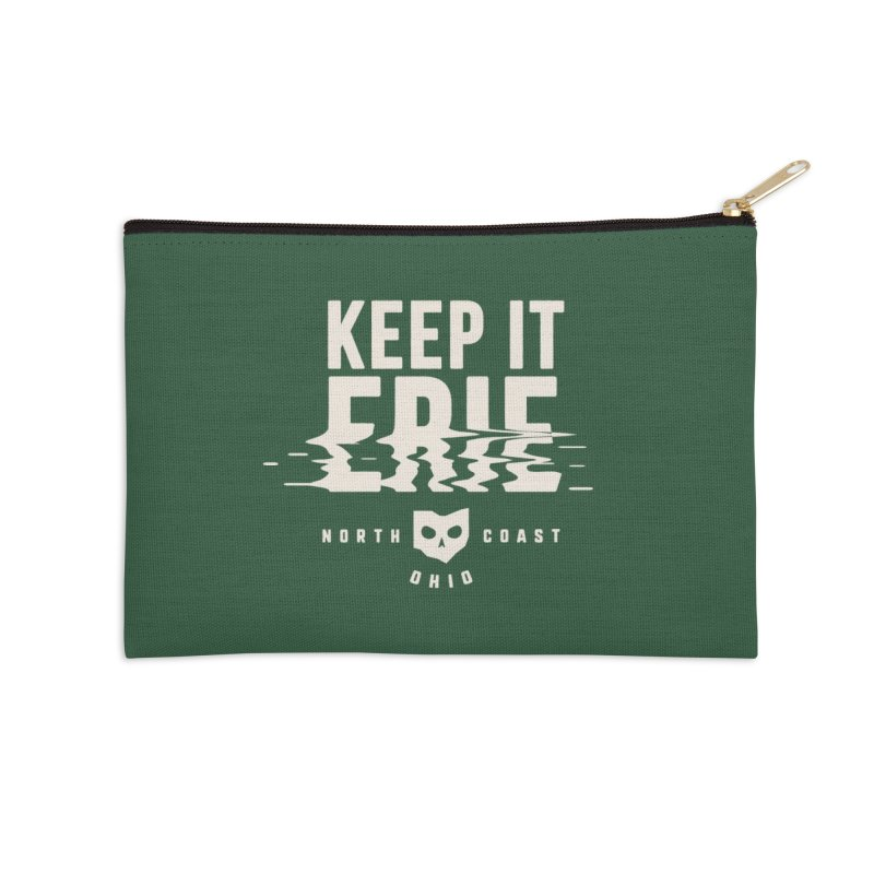Keep It Erie Accessories Zip Pouch by Shop Sandusky Ink & Cloth