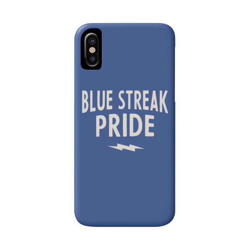 Blue Streak Pride Accessories Phone Case by Shop Sandusky Ink & Cloth