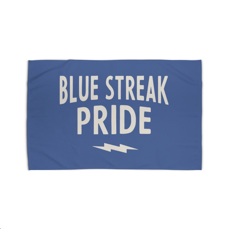 Blue Streak Pride Home Rug by Shop Sandusky Ink & Cloth