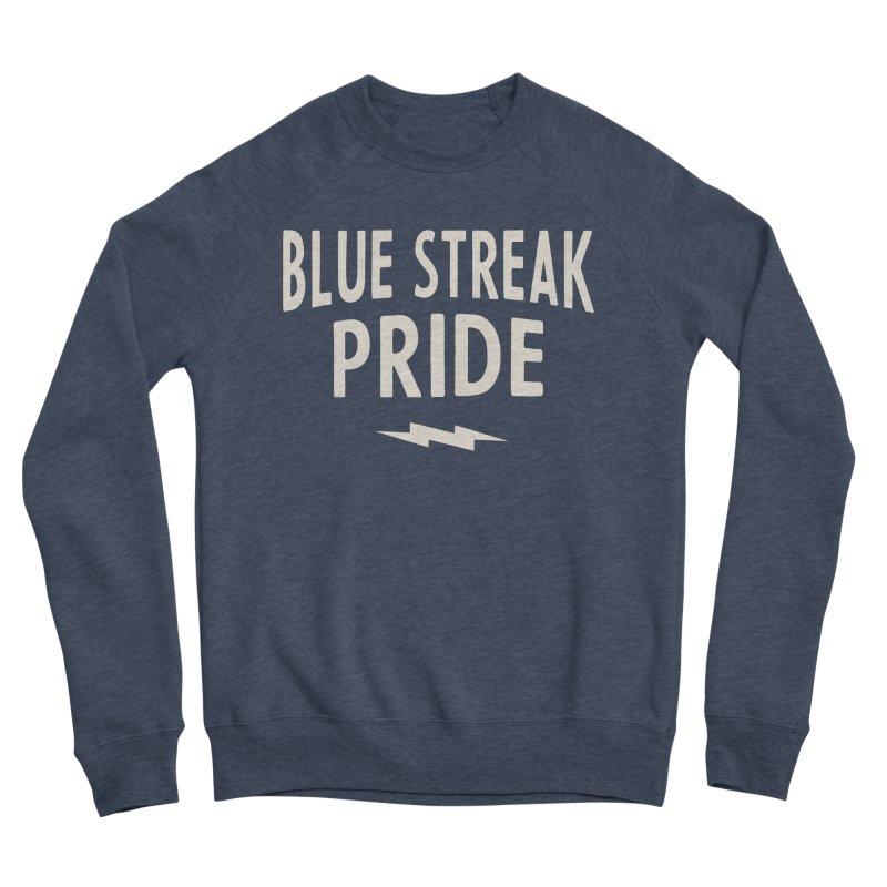 Blue Streak Pride Men's Sponge Fleece Sweatshirt by Shop Sandusky Ink & Cloth