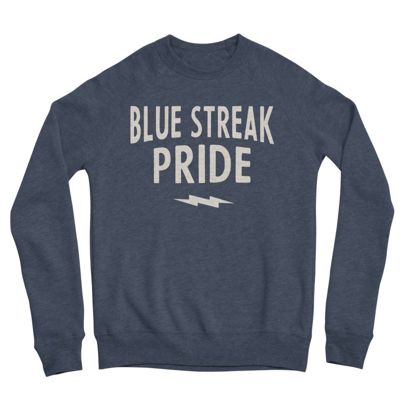 Blue Streak Pride Women's Sponge Fleece Sweatshirt by Shop Sandusky Ink & Cloth
