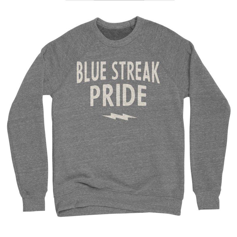 Blue Streak Pride Women's Sponge Fleece Sweatshirt by Shop Sandusky Ink & Cloth