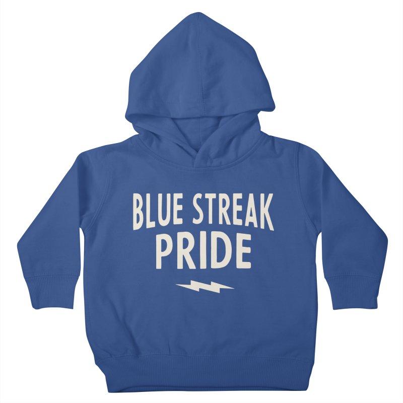 Blue Streak Pride Kids Toddler Pullover Hoody by Shop Sandusky Ink & Cloth