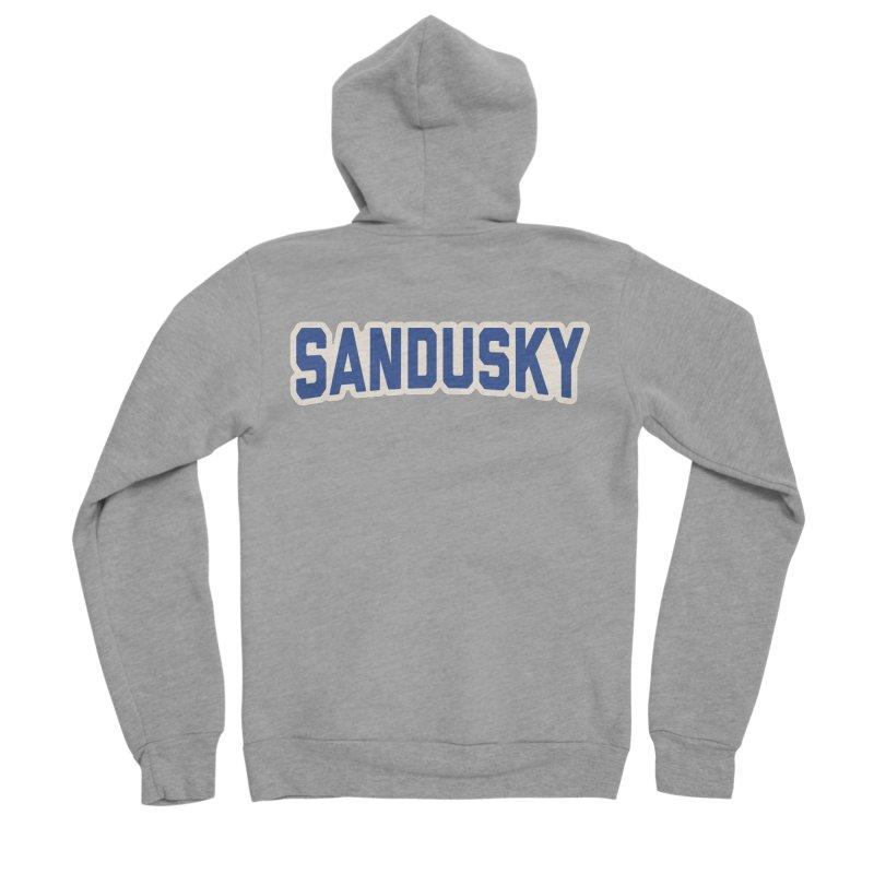 Block Sandusky Women's Sponge Fleece Zip-Up Hoody by Shop Sandusky Ink & Cloth