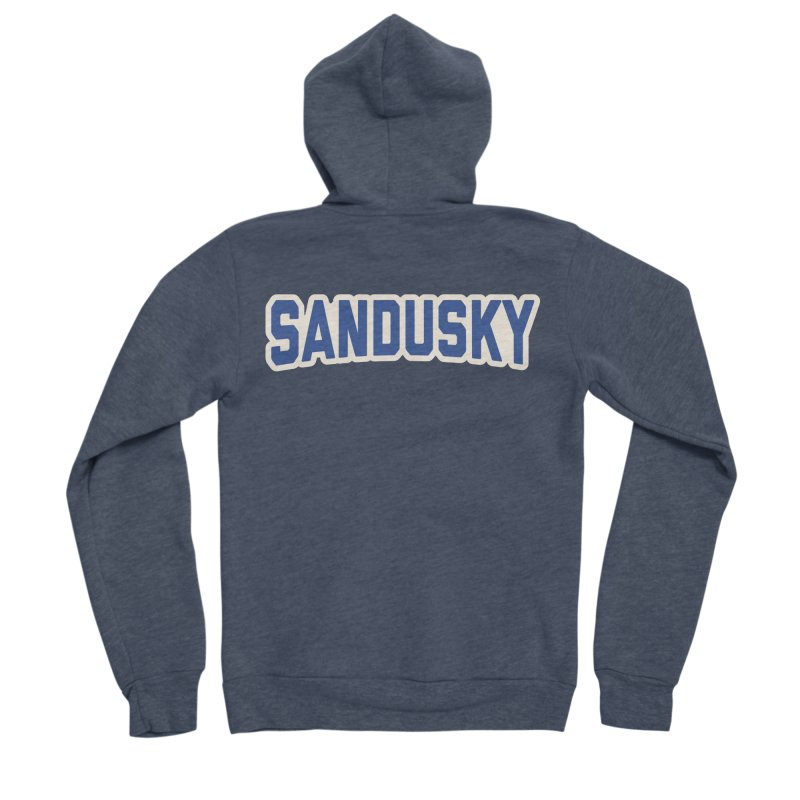 Block Sandusky Women's Sponge Fleece Zip-Up Hoody by Shop Sandusky Ink & Cloth