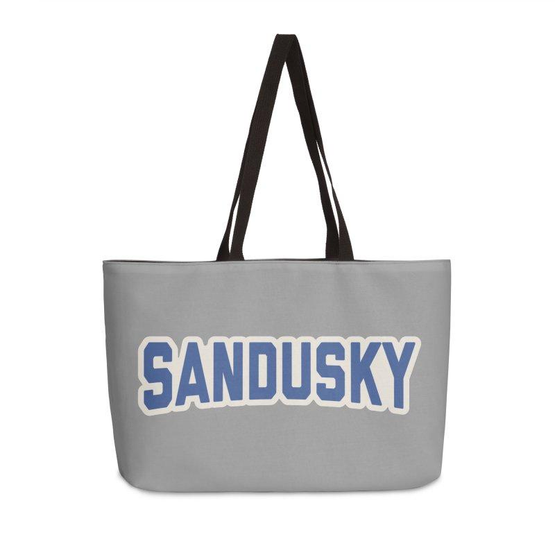 Block Sandusky Accessories Weekender Bag Bag by Shop Sandusky Ink & Cloth