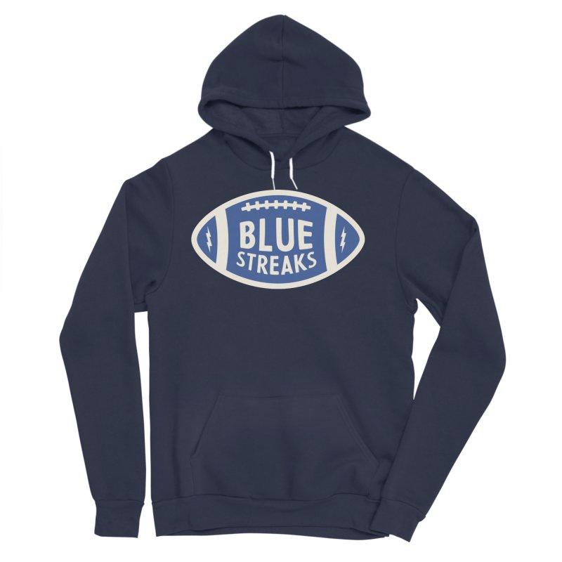 Blue Streaks Football Women's Sponge Fleece Pullover Hoody by Shop Sandusky Ink & Cloth