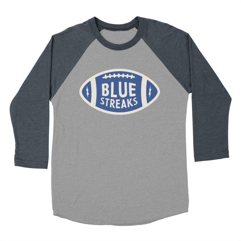 Blue Streaks Football Men's Longsleeve T-Shirt by Shop Sandusky Ink & Cloth