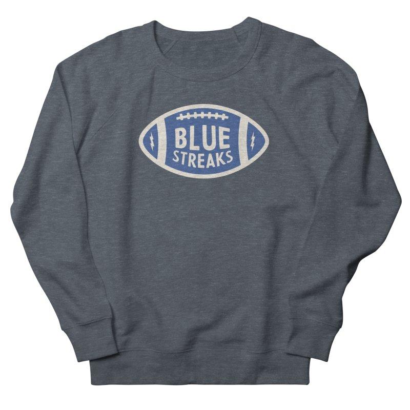 Blue Streaks Football Women's French Terry Sweatshirt by Shop Sandusky Ink & Cloth