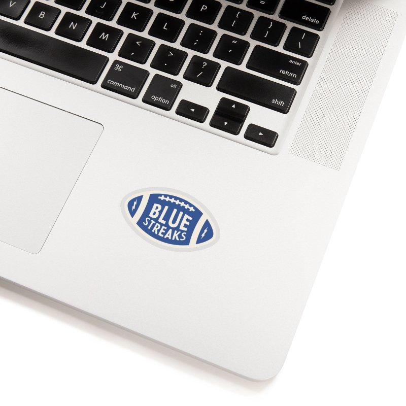Blue Streaks Football Accessories Sticker by Shop Sandusky Ink & Cloth