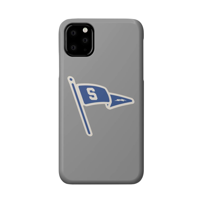Sandusky Blue Streaks Penant Accessories Phone Case by Shop Sandusky Ink & Cloth
