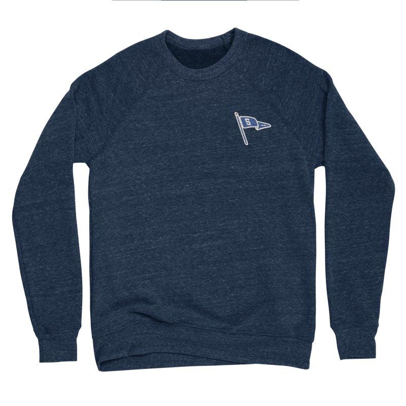 Sandusky Blue Streaks Penant Women's Sponge Fleece Sweatshirt by Shop Sandusky Ink & Cloth