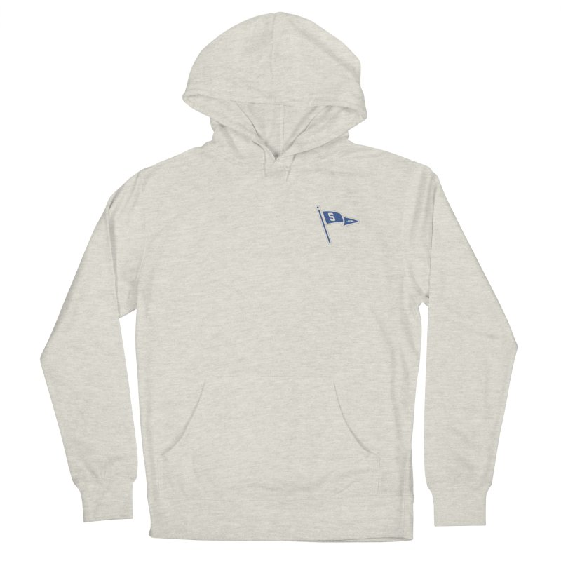 Sandusky Blue Streaks Penant Men's French Terry Pullover Hoody by Shop Sandusky Ink & Cloth