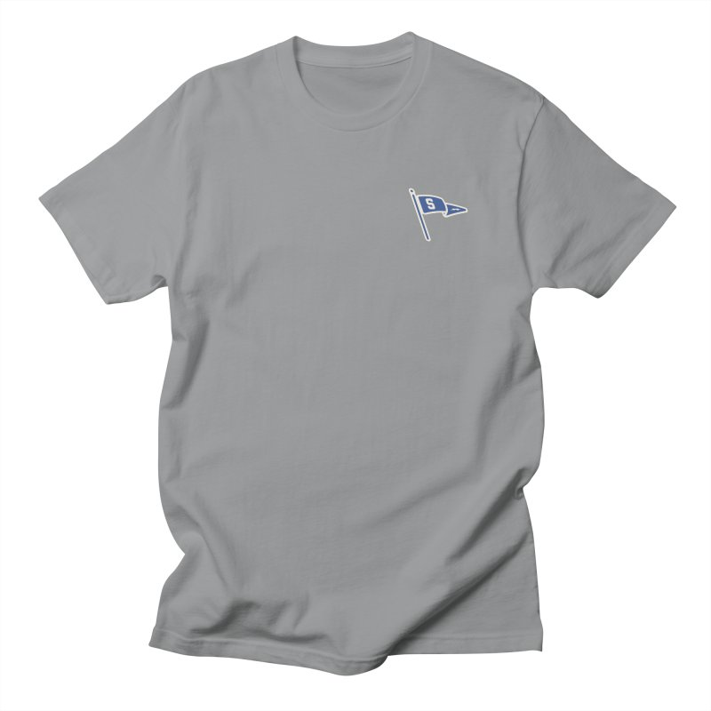 Sandusky Blue Streaks Penant Men's Regular T-Shirt by Shop Sandusky Ink & Cloth