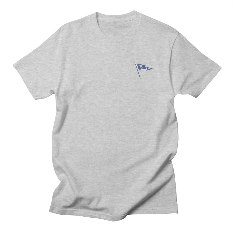 Sandusky Blue Streaks Penant Women's Regular Unisex T-Shirt by Shop Sandusky Ink & Cloth