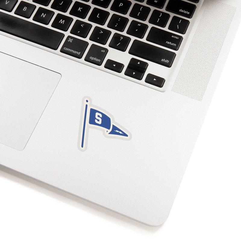 Sandusky Blue Streaks Penant Accessories Sticker by Shop Sandusky Ink & Cloth