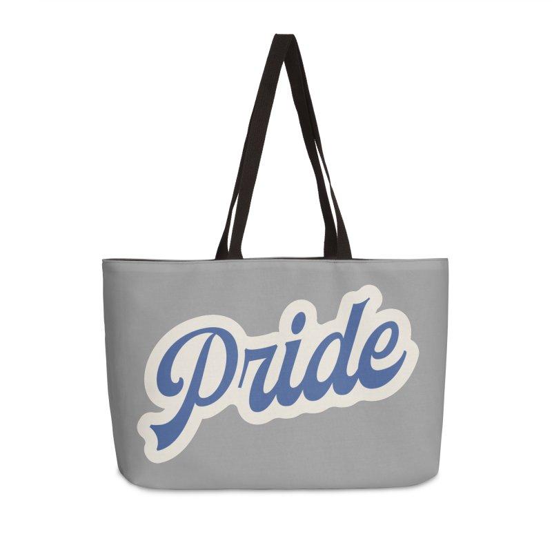 Script Pride Accessories Weekender Bag Bag by Shop Sandusky Ink & Cloth