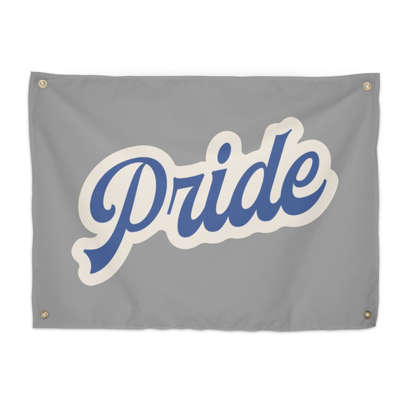 Script Pride Home Tapestry by Shop Sandusky Ink & Cloth