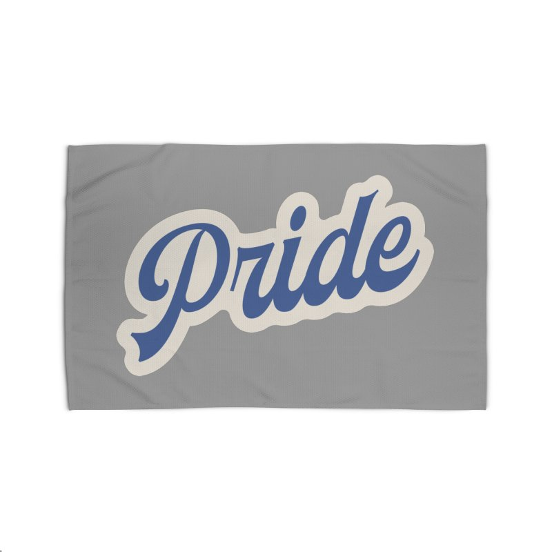 Script Pride Home Rug by Shop Sandusky Ink & Cloth