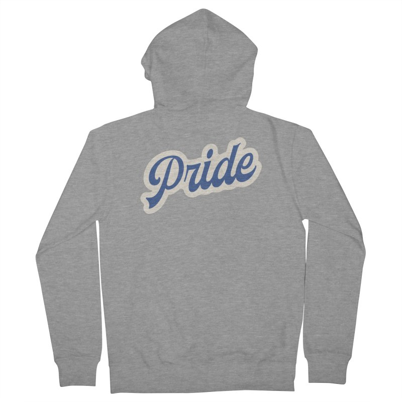 Script Pride Women's French Terry Zip-Up Hoody by Shop Sandusky Ink & Cloth