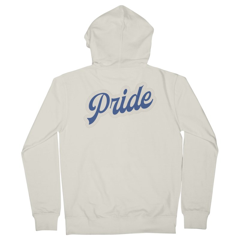 Script Pride Men's French Terry Zip-Up Hoody by Shop Sandusky Ink & Cloth