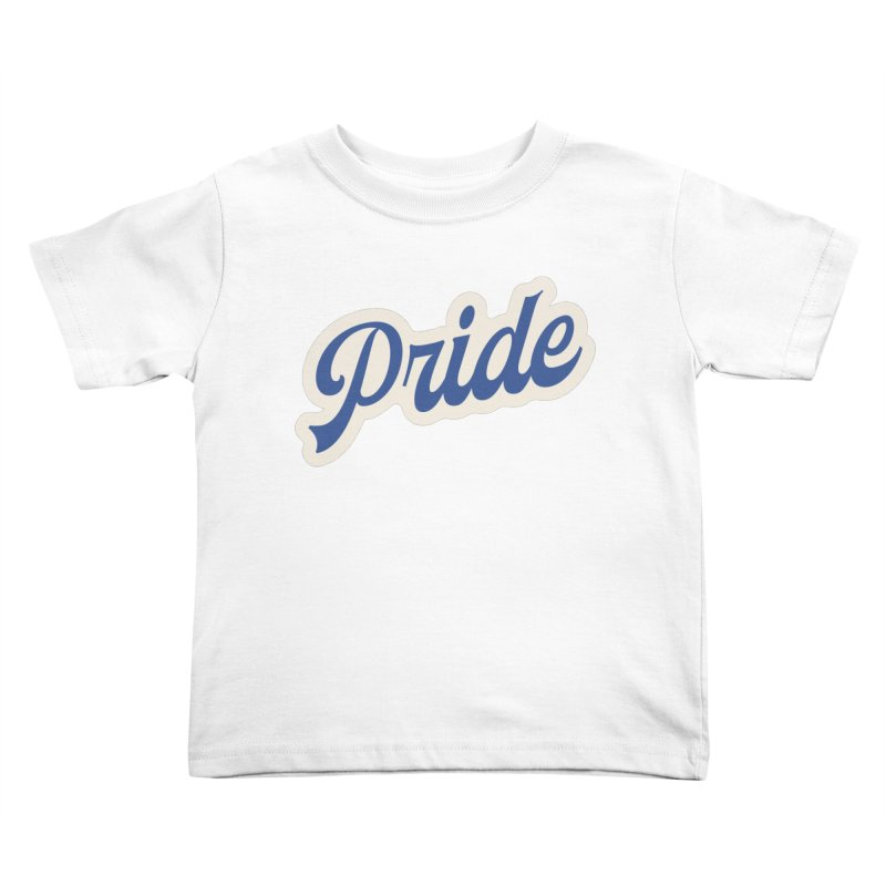 Script Pride Kids Toddler T-Shirt by Shop Sandusky Ink & Cloth