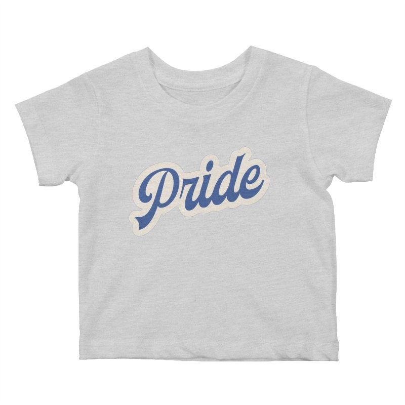 Script Pride Kids Baby T-Shirt by Shop Sandusky Ink & Cloth