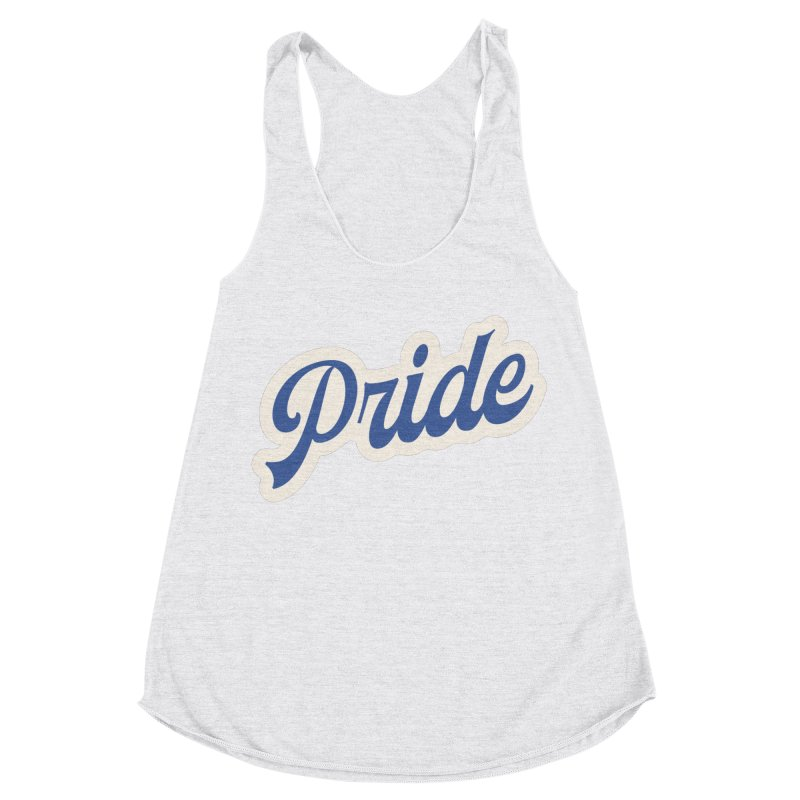 Script Pride Women's Racerback Triblend Tank by Shop Sandusky Ink & Cloth